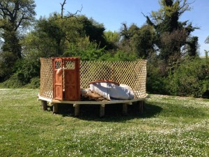 yurta costruzione
